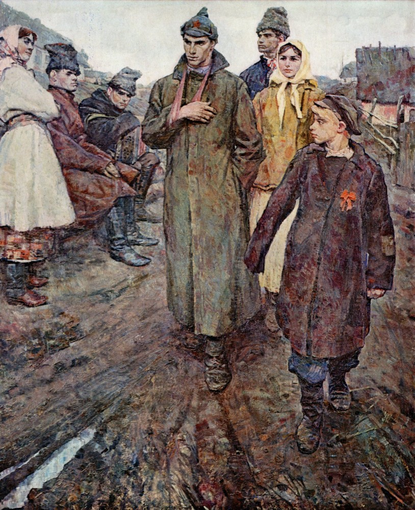 чеканок В. А_Первая комсосольская ячейка на селе.jpg