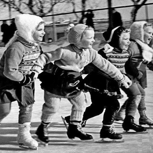 Коньки нашего детства.....
