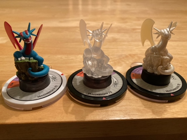 Just Picked up the Pearl Salamence, so I can show all three off.