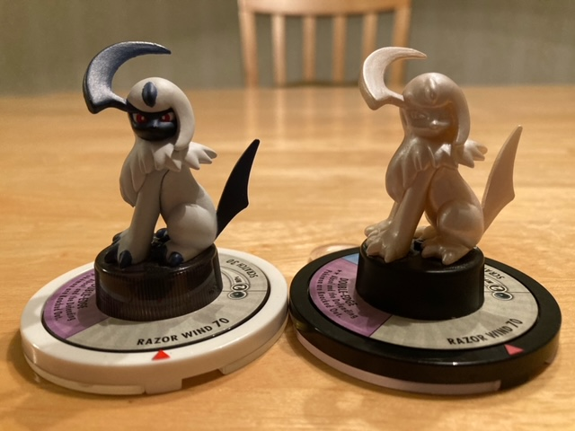 One of my new grails. Now I just need crystal Absol for all three.