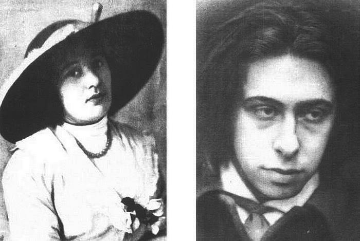 Лиза и Илья, Париж, 1910