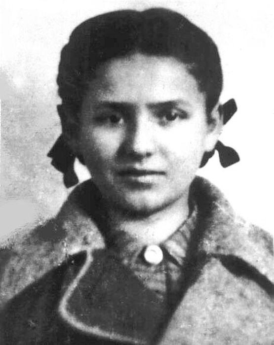 Приемная внучка Эренбург Фаня Палеева  (урождённая Фейга Фишман)