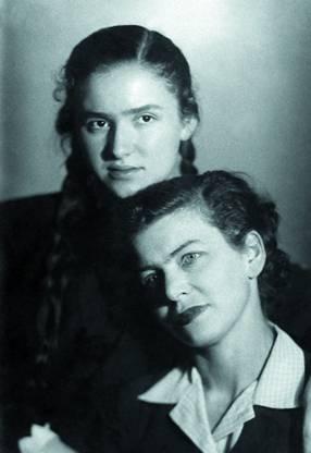 Ирина Эренбург с Фаней