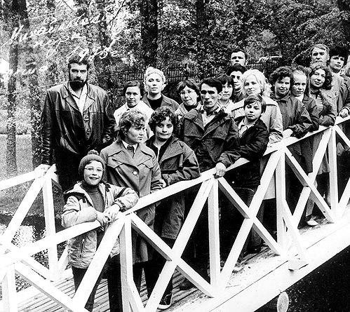 Экскурсовод Довлатов в Пушкинских Горах, 1977