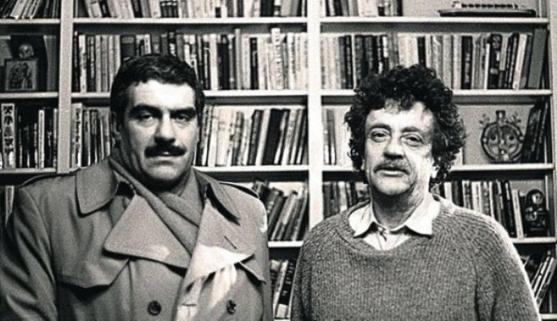 Сергей  Довлатов и Курт Воннегут