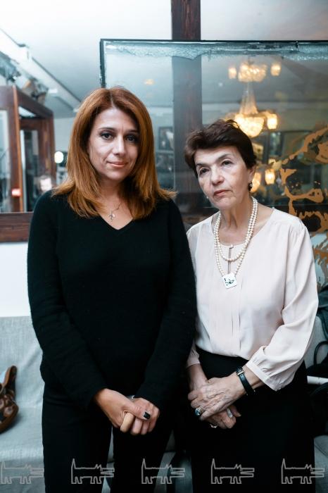 Дочь Катя и жена Лена в  Петербурге,  4 сентября 2016 года