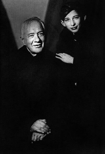 Чуковский с внуком Женей