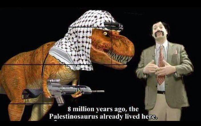 перевод: 8 миллинов лет назад Палестинозавры уже обитали в этих местах