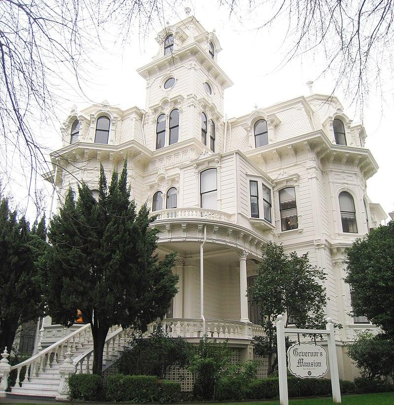 Резиденция калифорнийских губернаторов в Сакраменто