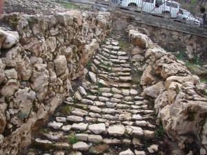 Камни древнего Хеврона времен Патриархов - раскопки