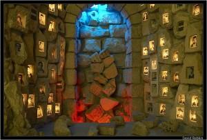 Часть Музея Наследия Хеврона посвященная жертвам погрома