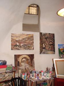 Верхние две картины висят теперь у меня дома