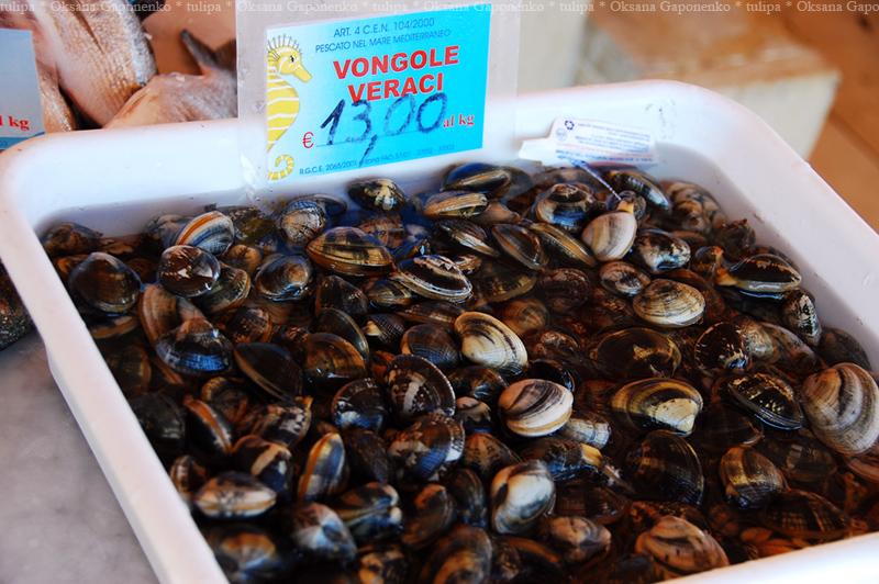 Морские дары Сицилии