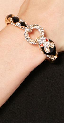 змея с кольцом