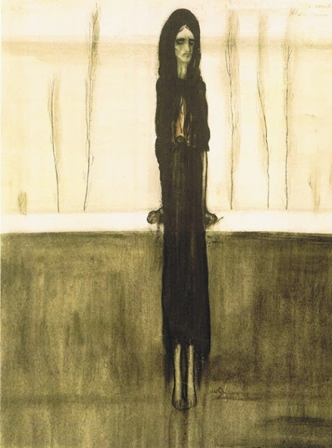 Leon Spilliaert-L Attente-1902
