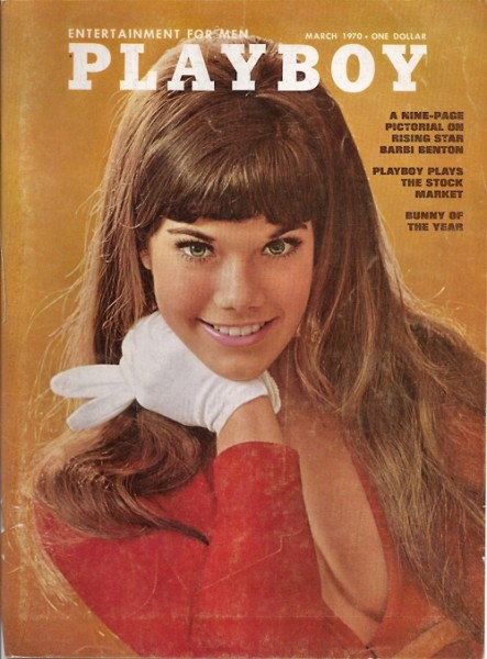 Barbi Benson, Playboy, March 1970, Cover, 34