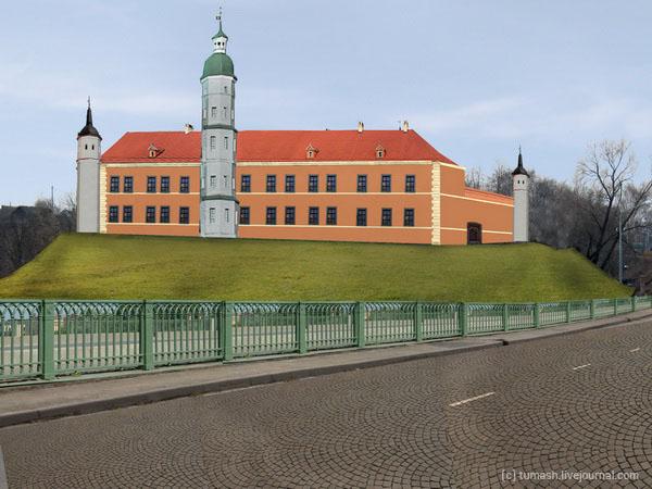 Быхаўскі замак, рэстаўрацыя / Быховский замок, реставрация / Bychau castle, restoration