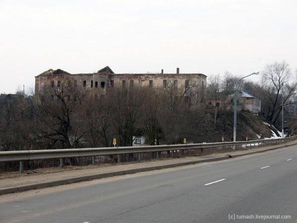 Быхаўскі замак, рэстаўрацыя / Быховский замок, реставрация / Bychau castle, renovation