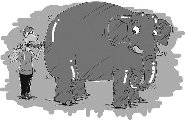 О поедании слонов