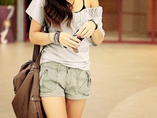 Кто-то, тоже любящий большие сумки и шорты :-)