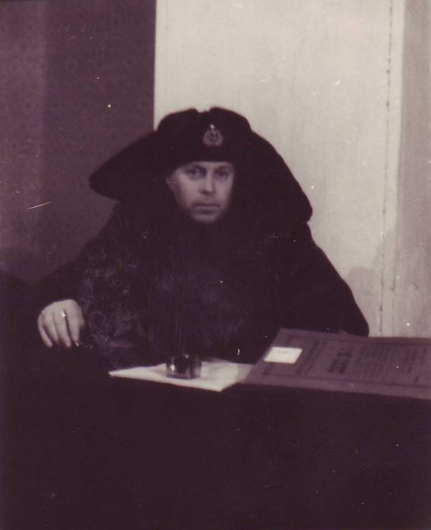 Полковник юстиции Коликов Георгий Васильевич