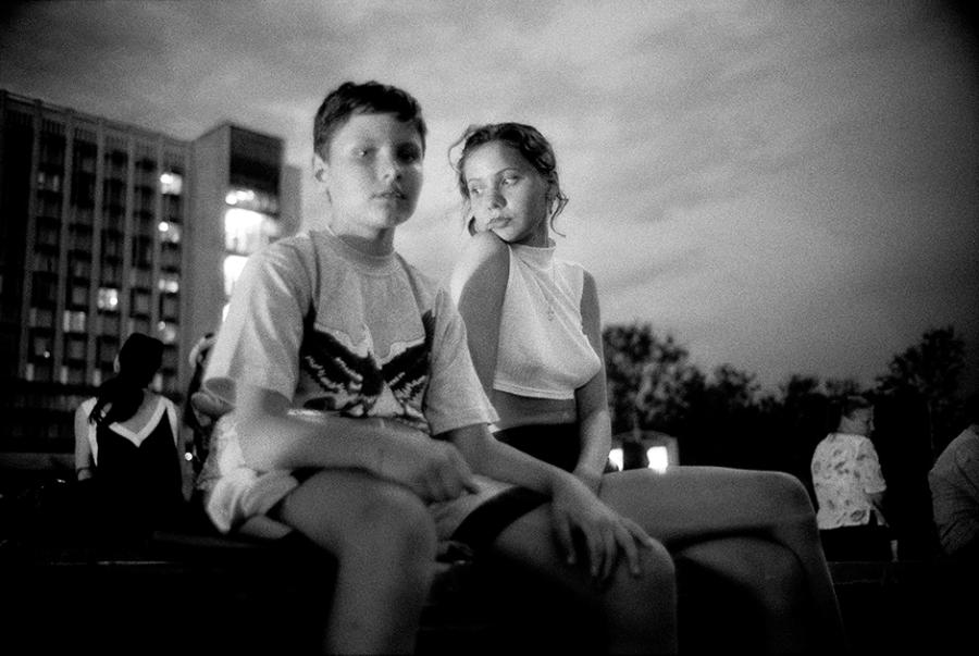 Москва. Зарядье. 1998 год