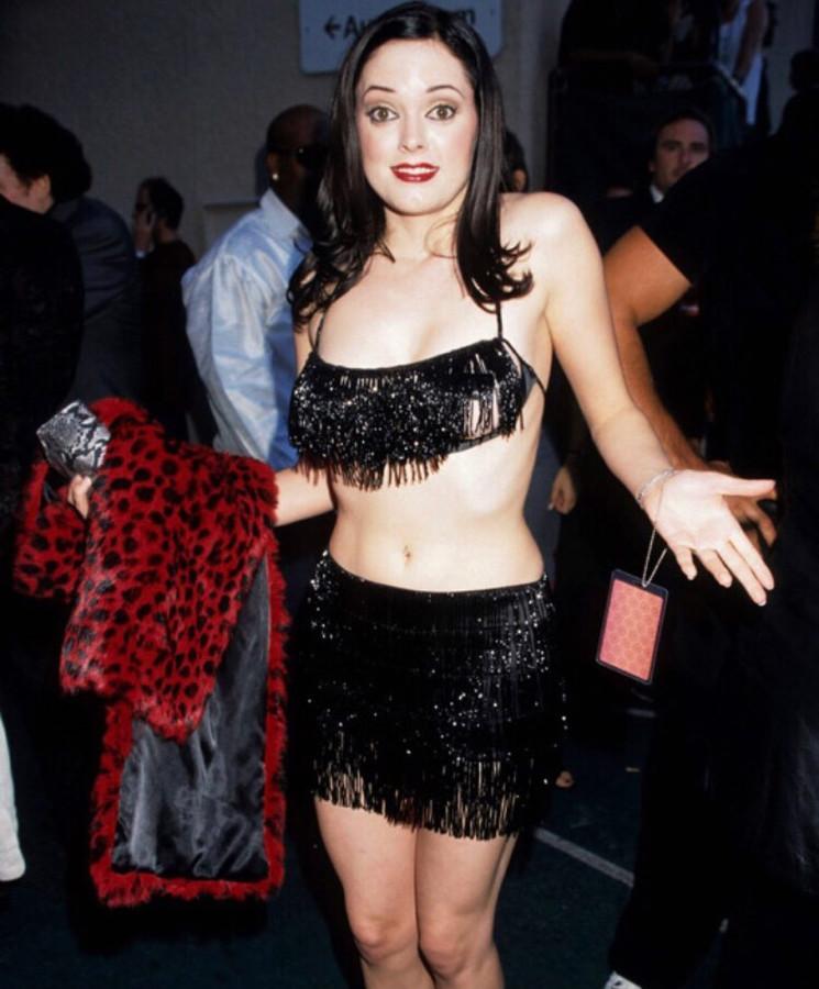 Rose McGowan на MTV Music Awards After Party, 1998