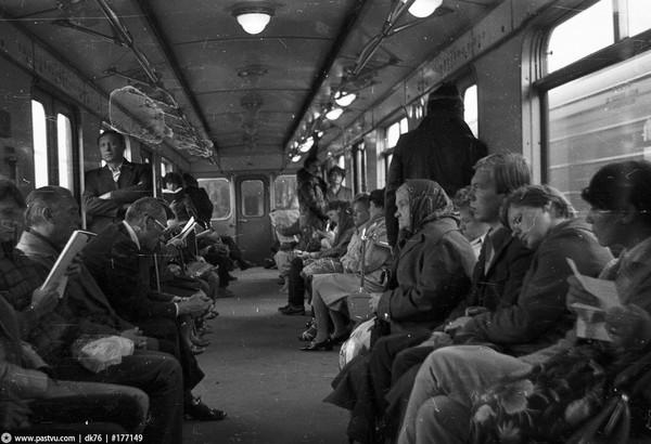 Открытый участок Ждановско-Краснопресненской линии начало 80х