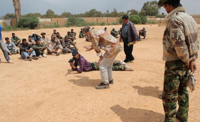 Сухопутные войск НАТО во время вторжения в Ливию