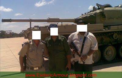 Вторая фотография подтверждает, что как минимум частично экипаж танка был иорданским.