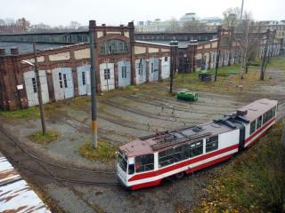 Василеостровский трамвайный парк