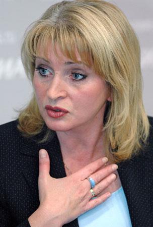 Вице-губернатор С-Петербурга Алла Манилова