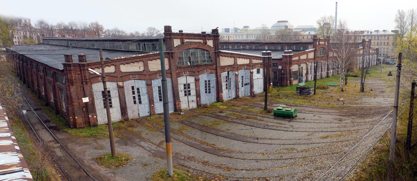 Василеостровский трамвайный парк - старейший в Петербурге