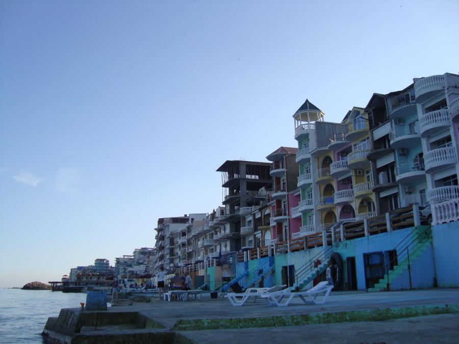 Крым Утес: Отель Аркадия - Утес, Санта Барбара: отели