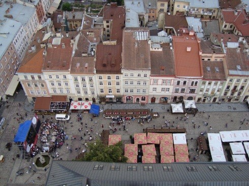 Львов Площадь Рынок