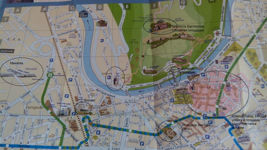 karta-Grenoble-chto-posmotret