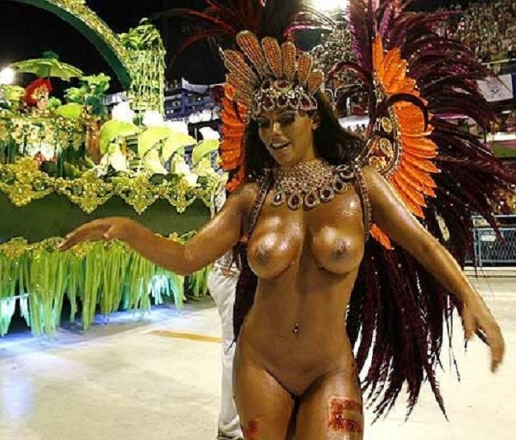 Бразильское порно на карнавале