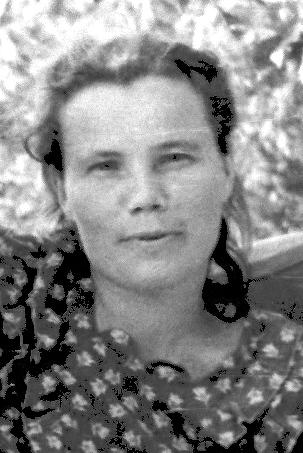 Мама, начало 50-х