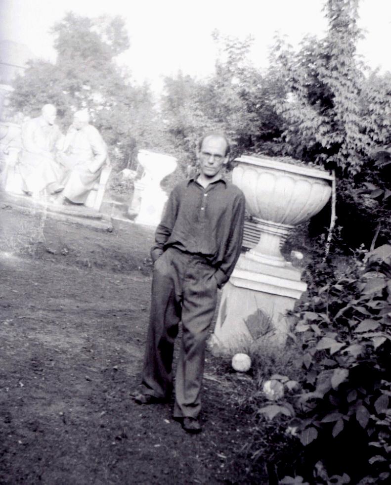 Папа, 1952 год.
