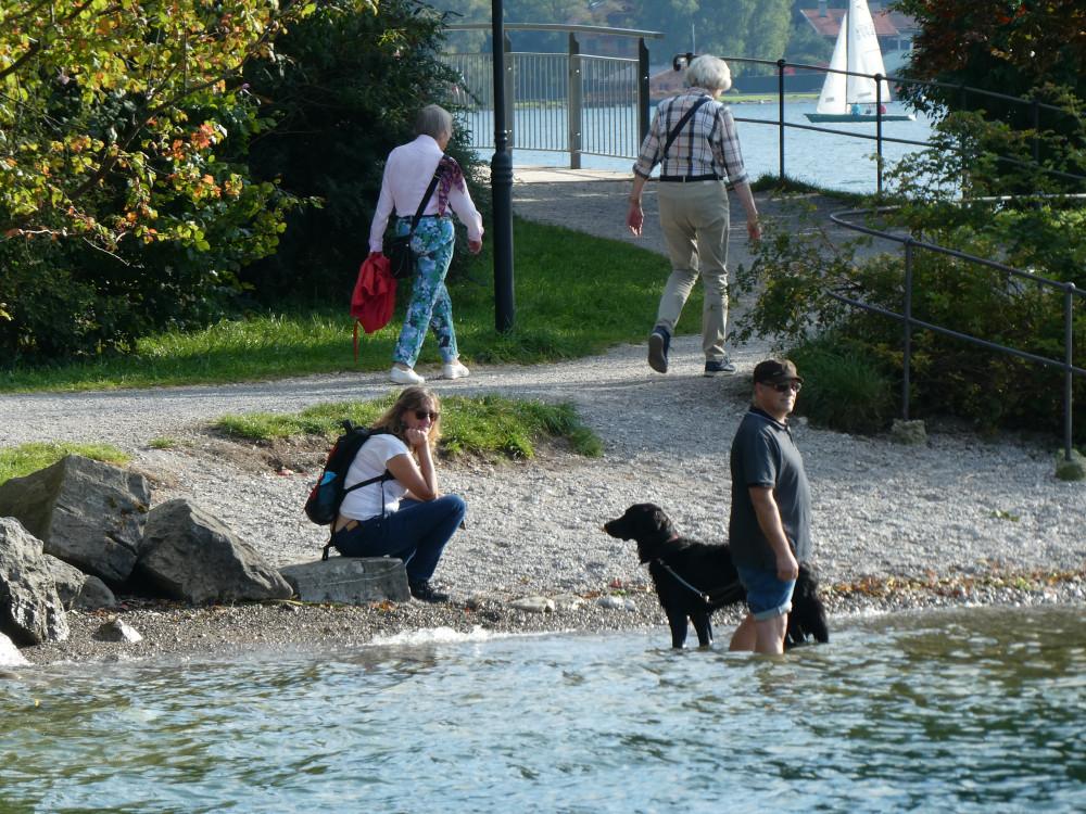 Я, конечно, тоже походила по воде, но для меня она холодная!