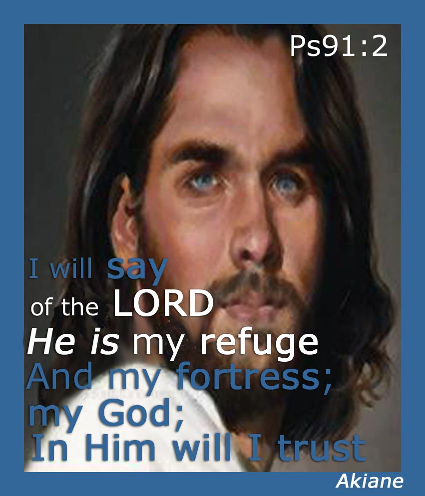 Jesus Ps 91v2