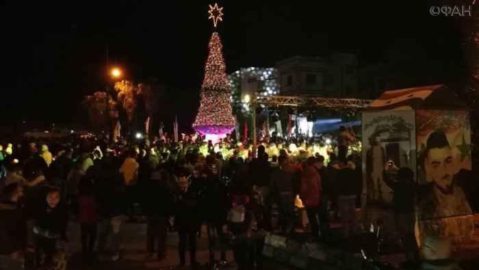 Новый год в Сирии провинция Хама