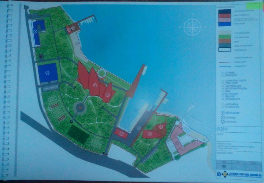 Карта застройки