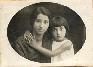 27 августа 1930 г Шведова Фотя и Шведова Сара