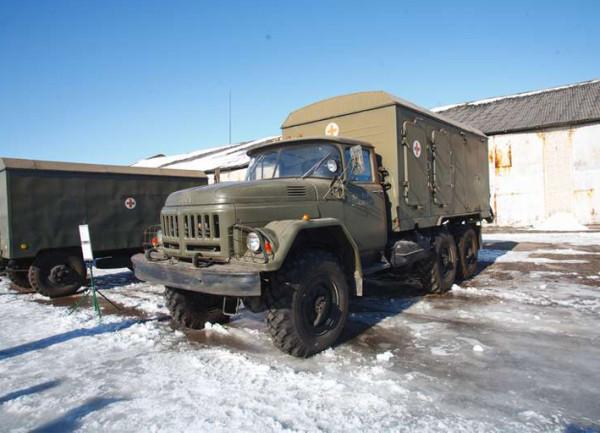 санитарный грузовик