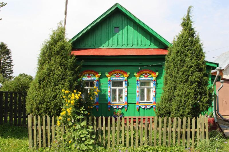 Деревня Черниж, под Суздалем