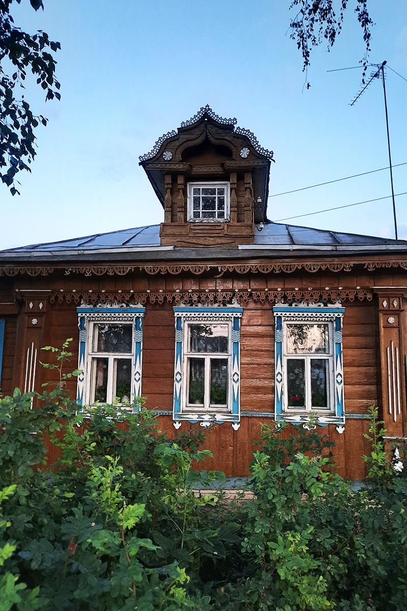 Старый дома на улице Виноградова, Суздаль