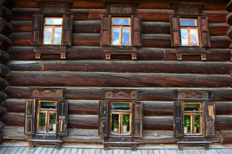 Исторические в Музее деревянного зодчества, Суздаль.