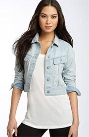 cropped jean jacket plus size - Jean Yu Beauty