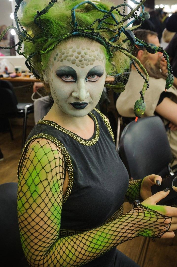 Художественный грим работа девушке моделью ахтубинск